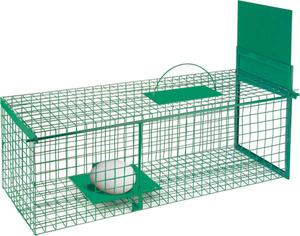 Lebendfalle für Marder, Ratten etc. ein Eingang - 28 x 28 x 75 cm Westfalia