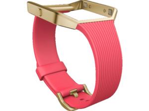 FITBIT FB159ABGPKL Ersatz-/Wechselarmband Pink/Gold
