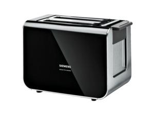 SIEMENS TT 86103 Toaster in Schwarz
