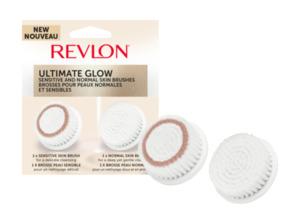 REVLON Ultimate Glow Ersatzbürste in Weiß
