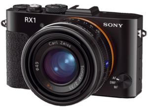 SONY Cyber-shot DSC-RX1 Kompaktkamera, 24.3 Megapixel in Schwarz