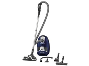 ROWENTA RO6371EA Silence Force Compact 4A Home and Car Staubsauger, 550 Watt in Blau/Schwarz
