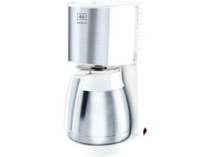 MELITTA 1017-07 Enjoy Top Kaffeemaschine mit Thermokanne in Weiß/Silber