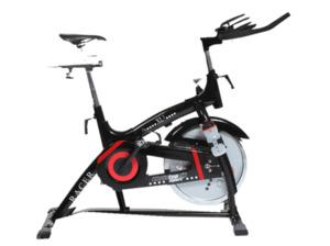 CHRISTOPEIT Racer Bike XL 2 schwarz Heimtrainer, Schwarz/Rot