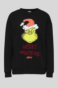 Weihnachts-Sweatshirt - Glanz Effekt - Der Grinch