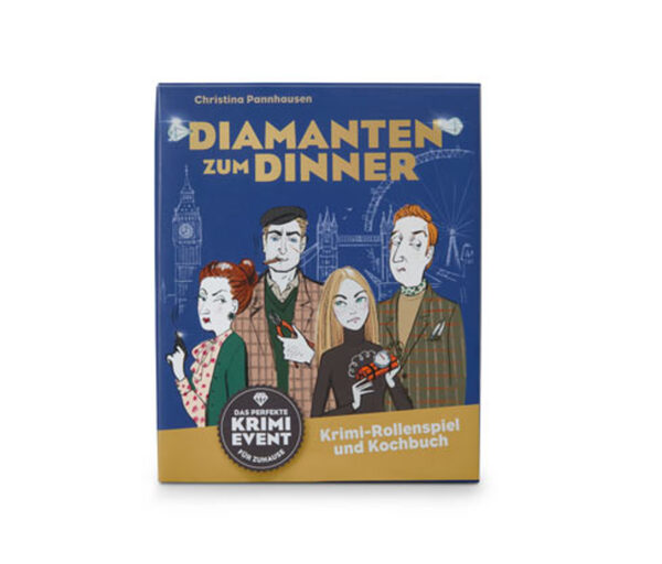 Krimispiel »Diamanten zum Dinner«