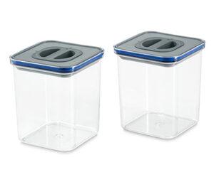 2 Vakuum-Frischhaltedosen
