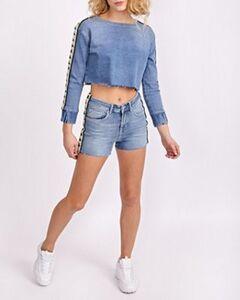 Kappa Authentic Denim Brizida - Damen Shorts