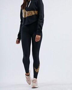Nike Leopard Swoosh - Damen Leggings