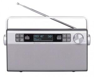 DAB 650 SI Kofferradio silber