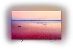 "43PUS6754 108 cm (43"") LCD-TV mit LED-Technik mittelsilber / A"