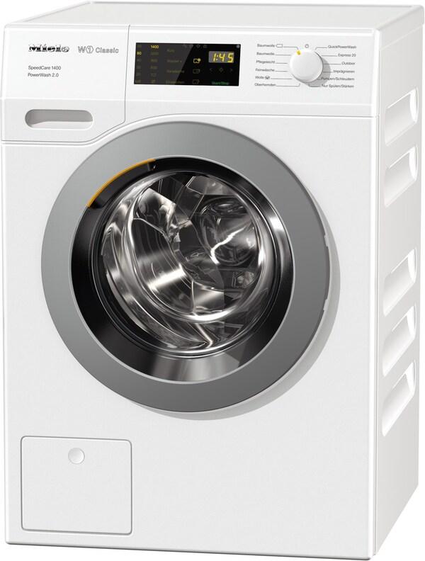 WDB 330 WPS SpeedCare 1400 Stand-Waschmaschine-Frontlader lotosweiß / A+++