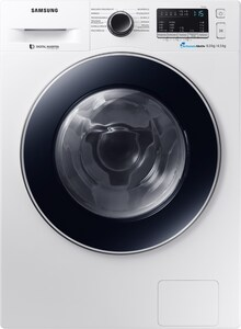 WD80M4A33JW Stand-Waschtrockner weiß/blau / A