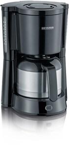 KA 4836 TYPE Kaffeeautomat mit 2 Thermokannen edelstahl-gebürstet/schwarz