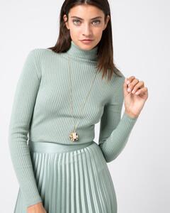 Hallhuber Halskette mit echter Süßwasserperle für Damen Gr. One Size in gold