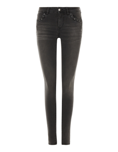 Damen Jegging Fit Jeans im Stone Washed Look