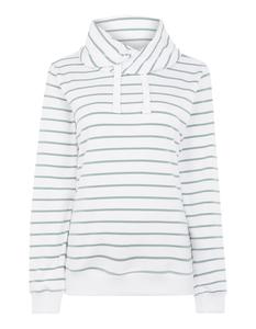 Damen Sweatshirt mit Tube Collar