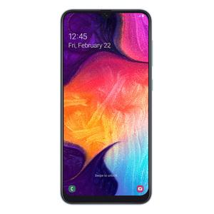 "Samsung Galaxy A50 128GB Dual-SIM Weiß [16,21cm (6,4"") OLED Display, Android 9.0, 25+5+8MP Triple Hauptkamera]"