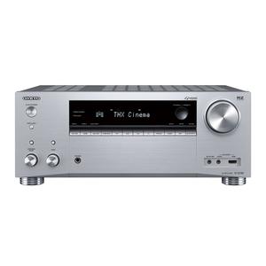 ONKYO TX-RZ740-S - 9.2-Kanal AV-Netzwerk-Receiver (silber) (185 Watt/Kanal, LAN, Wi-Fi, Bluetooth)