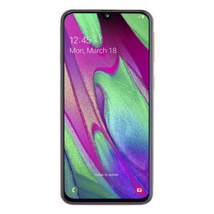 "Samsung Galaxy A40 64GB Dual-SIM Coral EU [14,92cm (5,9"") OLED Display, Android 9.0, 16+5MP Dual-Hauptkamera]"