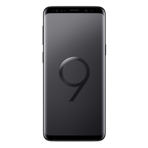 "Samsung Galaxy S9 Duos Midnight Black EU [14,7cm (5,8"") QHD+ Display, Android 8.0, 2.7GHz Octa-Core, 12MP]"
