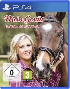 PS-4 Spiel Gestüt - Ein Leben für die Pferde |  B-Ware - der Artikel ist neu - Verpackung beschädigt -  Hülle gebrochen - Siegel entfernt um Bruchteile (der Hülle) zu entnehmen und CD zu prüfen