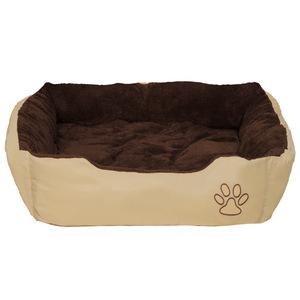 Hundebett mit Decke 90 x 70 x 18 cm