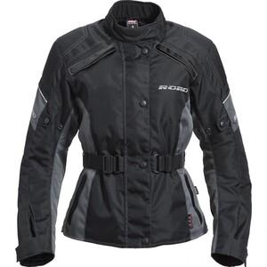 Road Damen Tour Textiljacke 1.0 grau Größe M