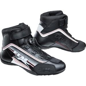 FLM Sports Schuh 1.0 Motorradstiefel weiß Herren Größe 46
