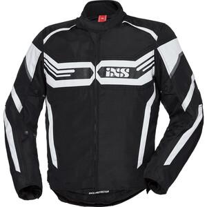 IXS            X-Sport Jacke RS-400-ST schwarz/weiß
