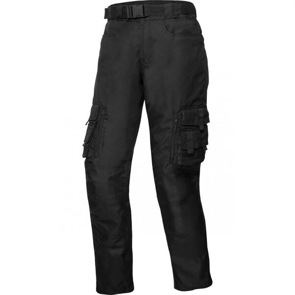 Spirit Motors Textilhose 1.0 schwarz Herren Größe S