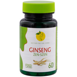 Mother Nature Herbs Ginseng