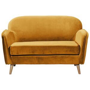 Sitzbank in Goldfarbe 'Milo' 2-Sitzer