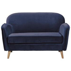 Sitzbank in Blau 'Milo' 2-Sitzer