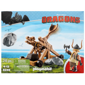 Playmobil Dragons Rochel mit Katapult - 9245