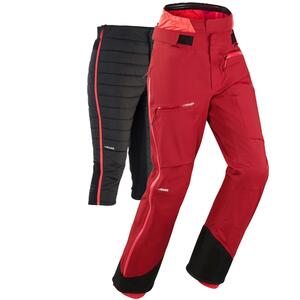 Skihose Freeride FR 900 Damen bordeauxrot