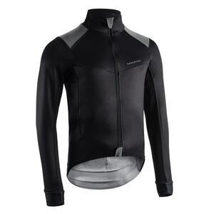 Fahrrad Winterjacke RR 900 für kalte Temperaturen schwarz