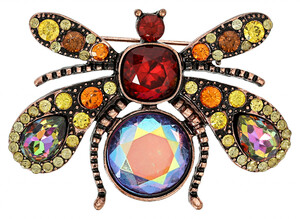 Brosche - Happy Fly
