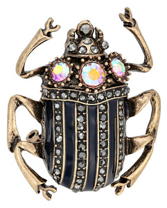 Brosche - Funky Scarab