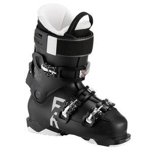 Skischuhe Freeride FR 100 Flex 80 Erwachsene schwarz