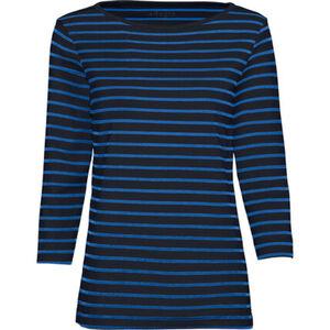 Adagio Streifen-Shirt, 3/4 Ärmel, für Damen