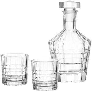 Leonardo Whisky-Set Spiritii 3-tlg., klar