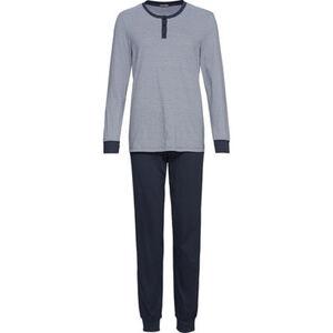 Schiesser Schlafanzug, Streifen, Single Jersey, mit Beinbündchen, für Damen