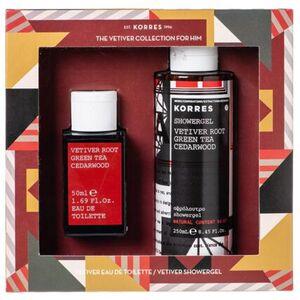"Korres ""The vetiver collection"" Set for Him"