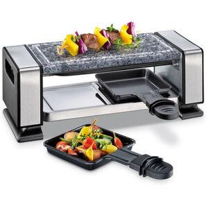 Küchenprofi Raclette Vista2 mit Granitgrillplatte, 350W, 2 Pfännchen