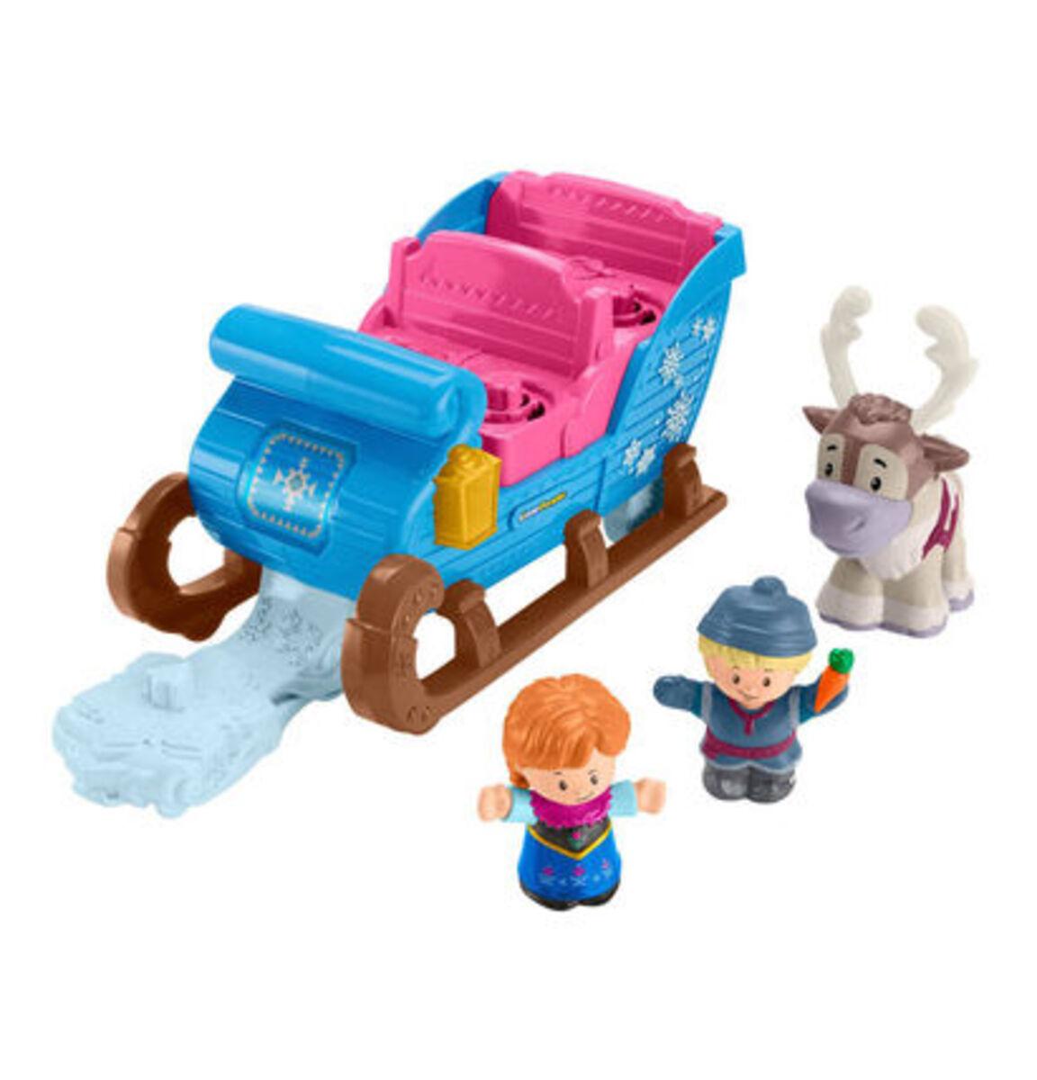 """Bild 1 von Mattel Figuren Set Kristoffs Schlitten """"Disney Die Eiskönigin"""""""