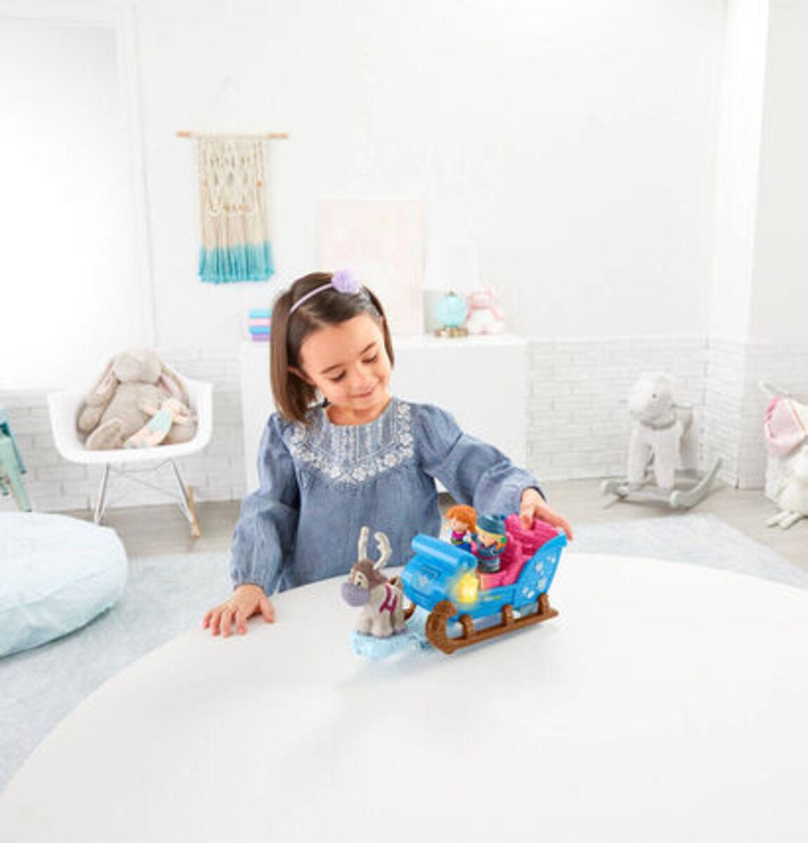 """Bild 2 von Mattel Figuren Set Kristoffs Schlitten """"Disney Die Eiskönigin"""""""