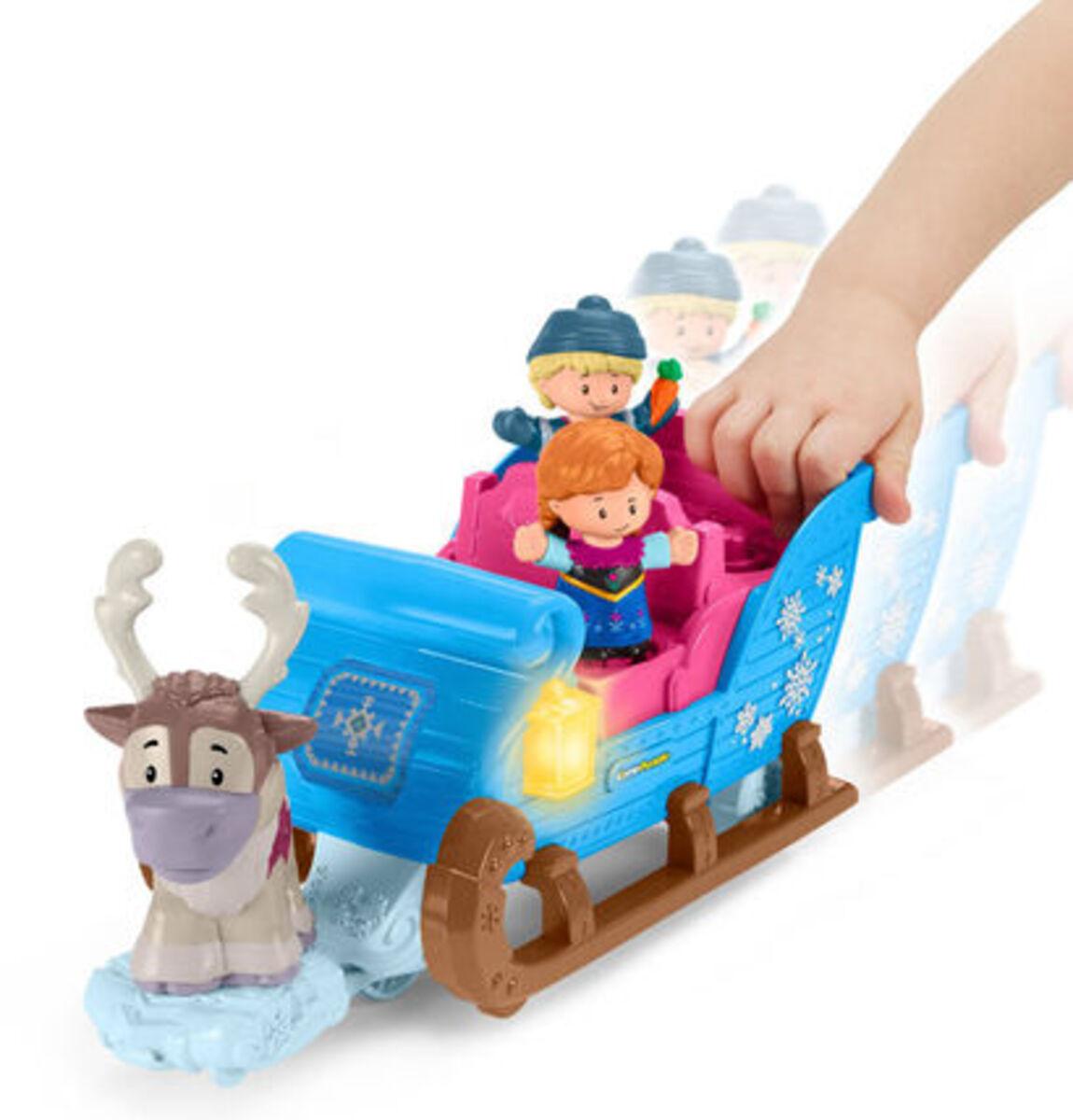 """Bild 3 von Mattel Figuren Set Kristoffs Schlitten """"Disney Die Eiskönigin"""""""
