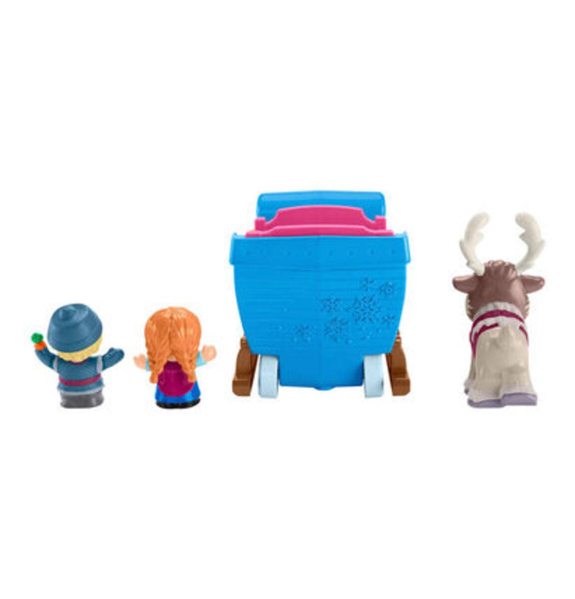 """Bild 4 von Mattel Figuren Set Kristoffs Schlitten """"Disney Die Eiskönigin"""""""
