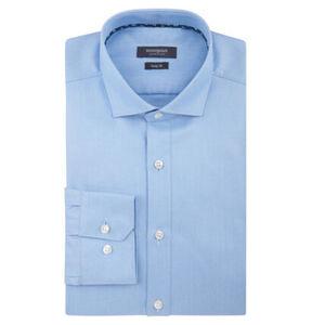 manguun collection Businesshemd, Baumwolle, Body Fit, Kent-Kragen